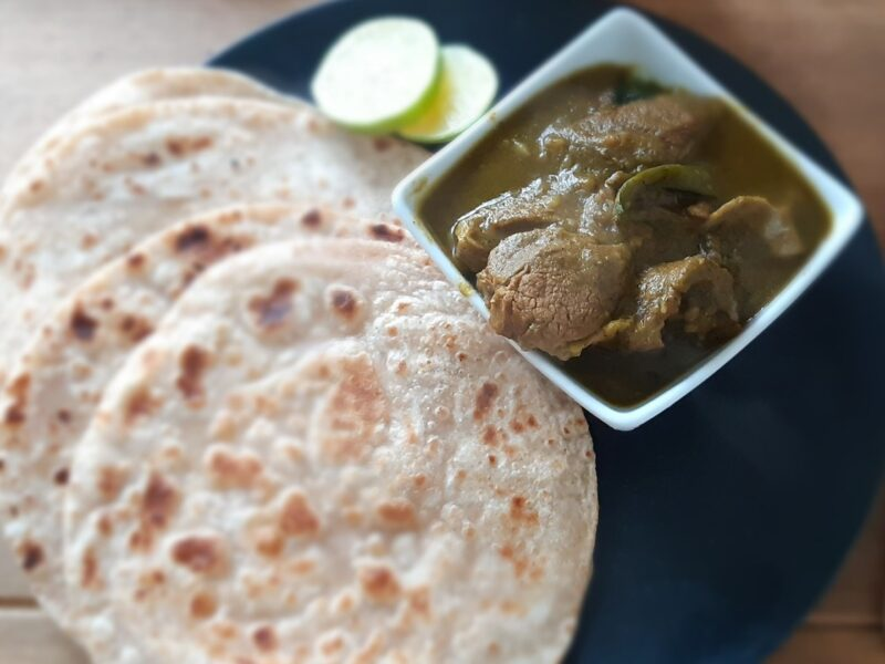 Mutton Phal – Meat simmered in pepper and Green Coriander